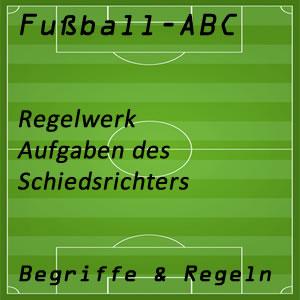 Fußballregeln Schiedsrichter