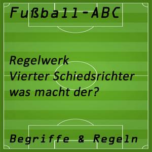 Fußballregeln Vierter Schiedsrichter