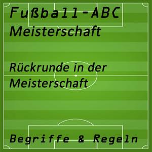 Fußball Rückrunde