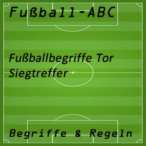 Fußball Siegtreffer