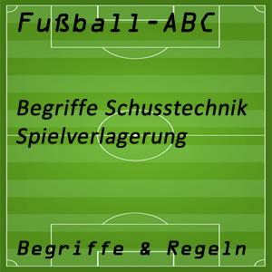 Fußball Spielverlagerung