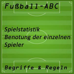 Fußball Statistik Benotung