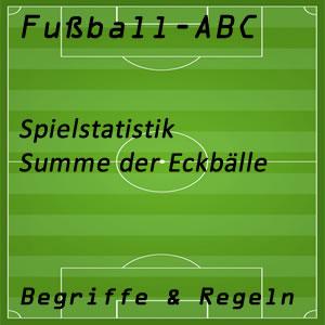 Fußball Eckbälle
