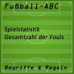 Fouls in der Fußballstatistik