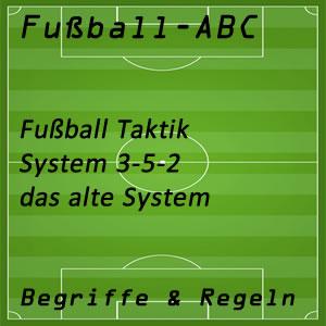 Fußball System 3-5-2