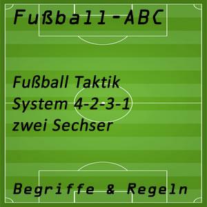 Fußball Taktik 4-2-3-1