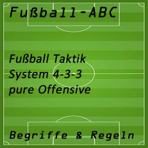 Fußball System 4-3-3