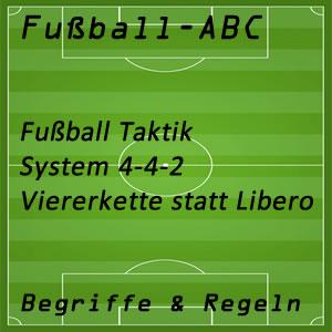 Fußball System 4-4-2