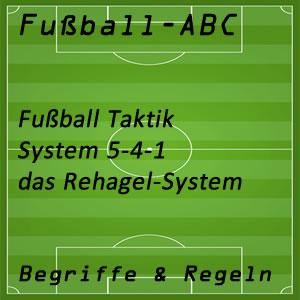 Fußball System 5-4-1