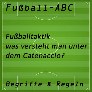 Fußball Taktik Catenaccio