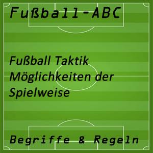 Fußball Taktik Aufstellung