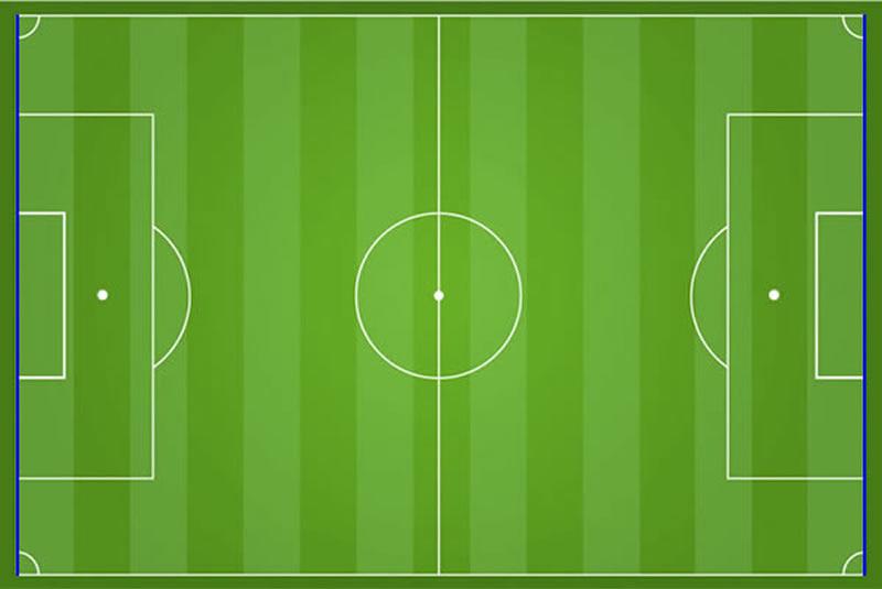 Fußball Torlinie