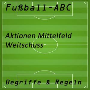 Fußball Weitschuss
