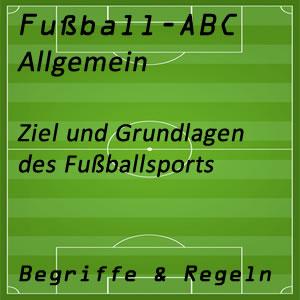 Fußball Ziel