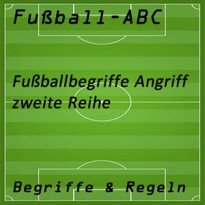Fußball zweite Reihe