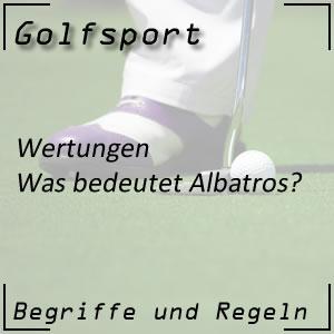 Golfwertung Albatros