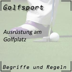 Golf Ausrüstung / Training