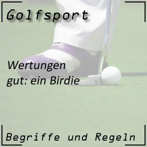 Golfwertung Birdie