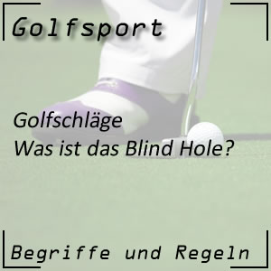 Golf Blind Hole
