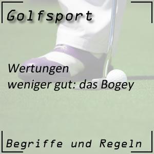 Golfwertung Bogey