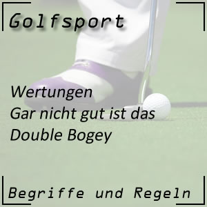 Golfwertung Double Bogey
