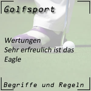 Golfwertung Eagle