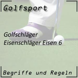 Golfschläger Eisen 6