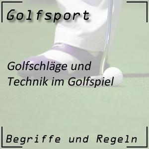 Golfschläge / Technik