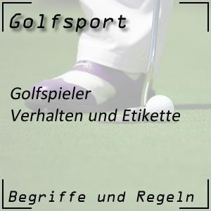 Golf Etikette