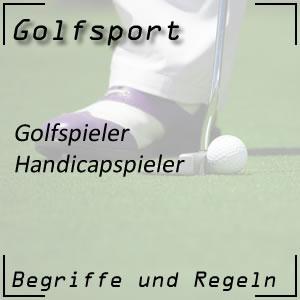 Golf Handicapspieler