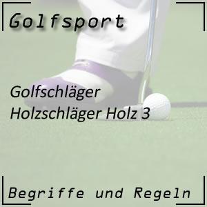 Golfschläger Holz 3