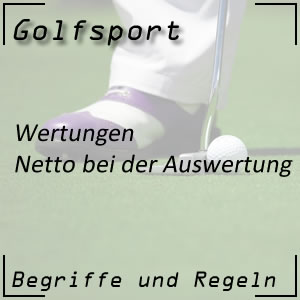 Golfwertung Netto