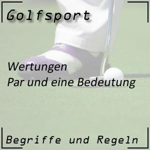 Golfwertung Par