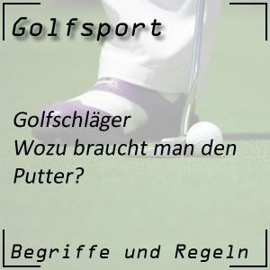 Golfschläger Putter