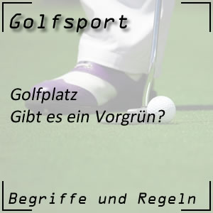 Golf Vorgrün