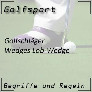 Golfschläger Lob-Wedge
