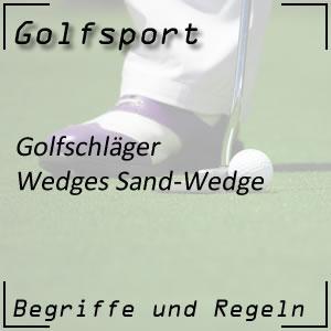 Golfschläger Sand-Wedge
