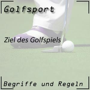 Golfspiel Ziel und Regeln