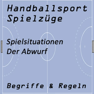 Handball Abwurf