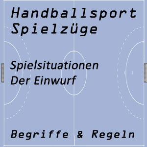 Handball Einwurf