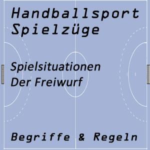 Handball Freiwurf