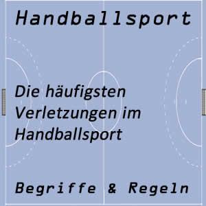 Häufigste Verletzungen im Handball