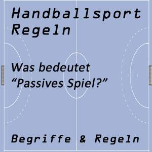 Handball passives Spiel