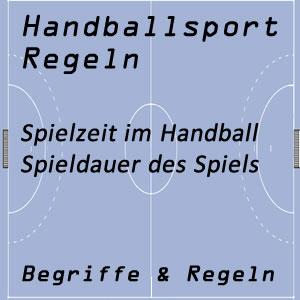 Handball Spielzeit / Spieldauer