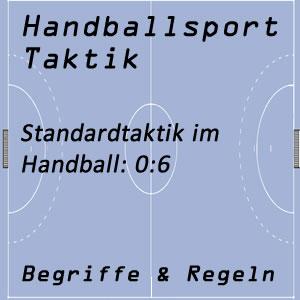 Handballtaktik 0:6