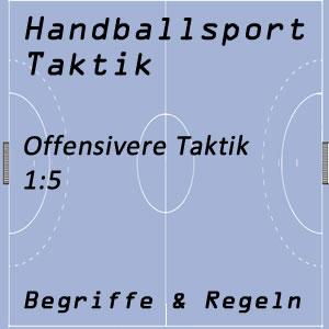 Handballtaktik 1:5