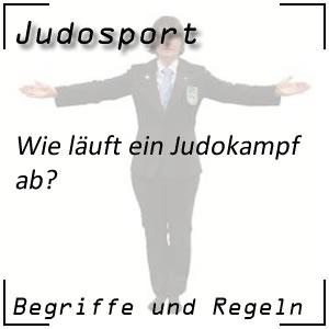 Ablauf des Judokampfes