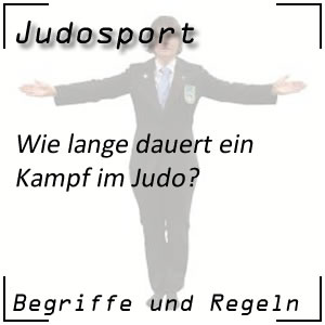 Judo Kampfdauer
