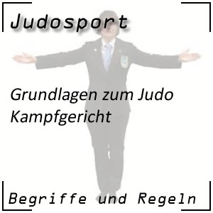 Judo Kampfgericht
