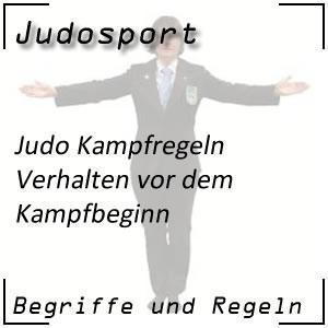 Judo Kampfbeginn